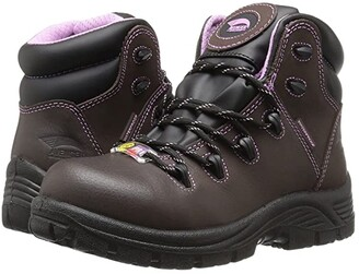 Avenger A7123 Composite Toe (Brown) Women's Work Boots
