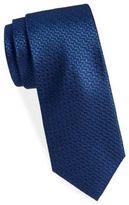 Saint Laurent Herringbone Silk Tie