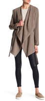 Soia & Kyo Draped Hooded Jacket
