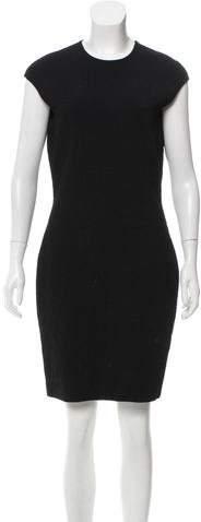 Alexander McQueen Matelassé Knee-Length Dress