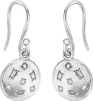 Forever Creations Usa Inc. Forever Creations 0.10 Ct. Tw. Diamond Disc Earrings