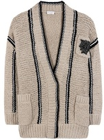 Brunello Cucinelli Knitted wool-blend cardigan