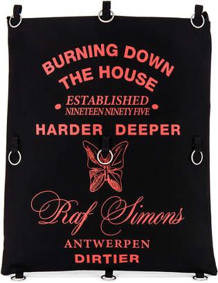 Raf Simons Rings Printed Tote Bag in Black | FWRD