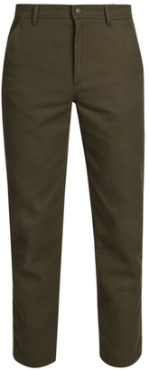 Valentino Slim-Fit Side Piping Cropped Cargo Trousers