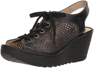 Fly London Women's YEKI841FLY Wedge Sandal