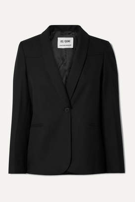 RE/DONE 50s Twill Blazer - Black
