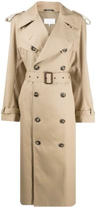 Maison Margiela Long Trench Coat