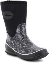 Western Chief Women's Rain boots B - Black & White Floral Sketch Rain Boot - Women