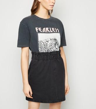 New Look Noisy May High Waist Denim Skirt