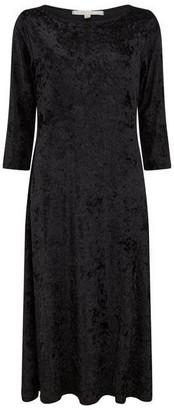 Nougat Brisbane Velvet Dress
