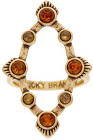 Lucky Brand Set Stone Ring - Size 7