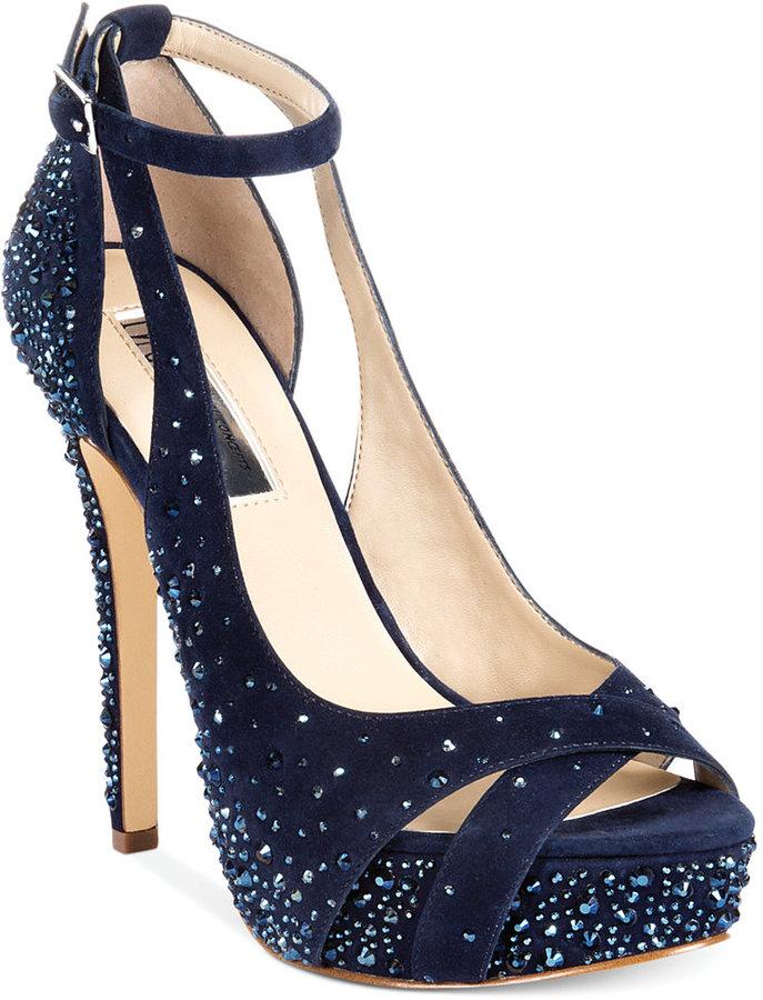 INC International Concepts Women's Minxe Platform Evening Sandals