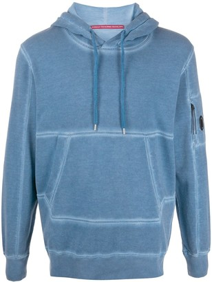 C.P. Company Plain Long-Sleeved Hoodie