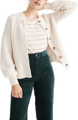 Madewell Surrey Bobble Cardigan Sweater