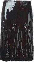 Nina Ricci sequin skirt - women - Silk/Polyester/Acetate - 38