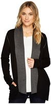 Michael Stars Luxe Cotton Reversible Shawl Collar Cardigan Women's Sweater