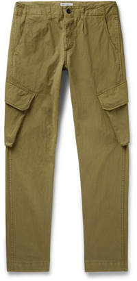 President's Slim-Fit Tapered Cotton-Blend Cargo Trousers