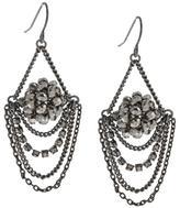 Kenneth Cole New! Silvertone Chandelier Earrings