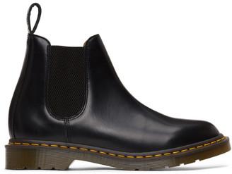 Comme des Garçons Comme des Garçons Black Dr. Martens Edition Made In England Chelsea Boots