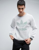 adidas Mesh Crew Neck Sweater