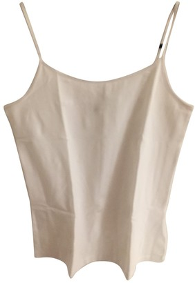 Hallhuber White Cotton Top for Women