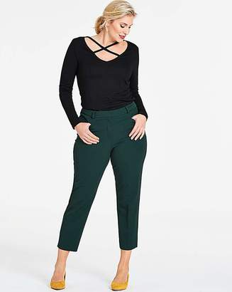 Capsule Dark Green Meghan Cigarette Trousers