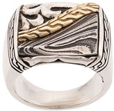 John Hardy Classic Chain engraved ring