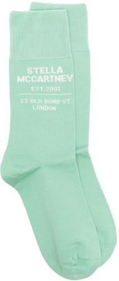Stella McCartney Intarsia Logo Socks