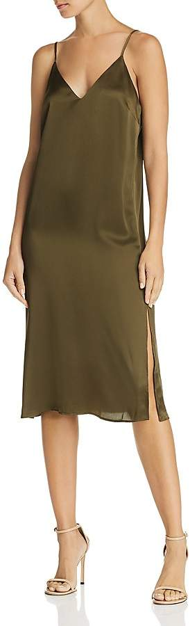 Anine Bing Gemma Silk Slip Dress