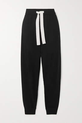 Ninety Percent Organic Merino Wool Track Pants - Black