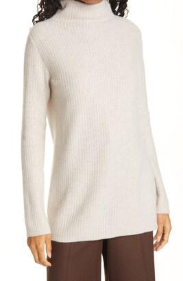 Vince Cashmere Turtleneck Tunic Sweater