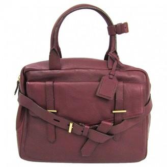 Reed Krakoff Burgundy Leather Handbags