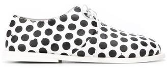 Marsèll Polka-Dot Lace-Up Shoes