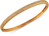 Effy Trio by Pave Diamond Bangle in 14k White, Rose, or Yellow Gold (1-1/5 ct t.w.)