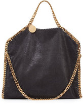 Stella McCartney Falabella Fold-Over Tote Bag, Black