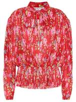 Balenciaga Floral-printed blouse