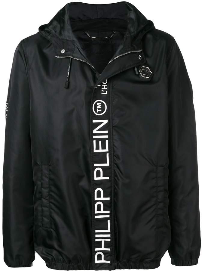 taglia 40 3065d a0787 printed logo jacket
