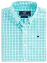 Vineyard Vines Boys' Seabrook Gingham Whale Button Down Shirt - Sizes S-XL