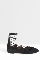 Isabel Marant Leoni Lace Up Ballerina