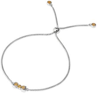 Tsai X Tsai San Shi Citrine Bracelet In Sterling Silver