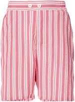 Henrik Vibskov Spyjama striped shorts