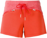 adidas by Stella McCartney Essentials knit shorts - women - Cotton - XS