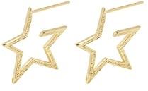 Gorjana Small Star Hoop Earrings