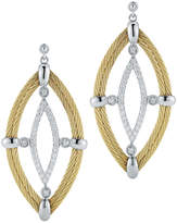 Alor Classique 18K & Stainless Steel 0.44 Ct. Tw. Diamond Drop Earrings