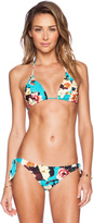 Seafolly Kabuki Bloom Slide Tri Bikini Top
