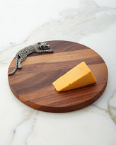 Horchow Vagabond House Leopard Cheese Board