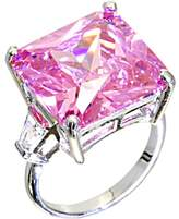 Body Candy Pink Square Cocktail Ring Size 7