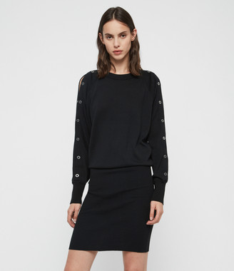 AllSaints Suzie Eyelet Dress