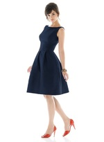 Alfred Sung D448 Bridesmaid Dress in Midnight
