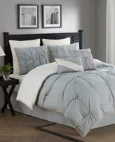 Jessica Sanders Kiss Pleats Reversible 8-Piece King Comforter Set